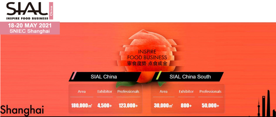 SIAL China 2021 in Shanghai
