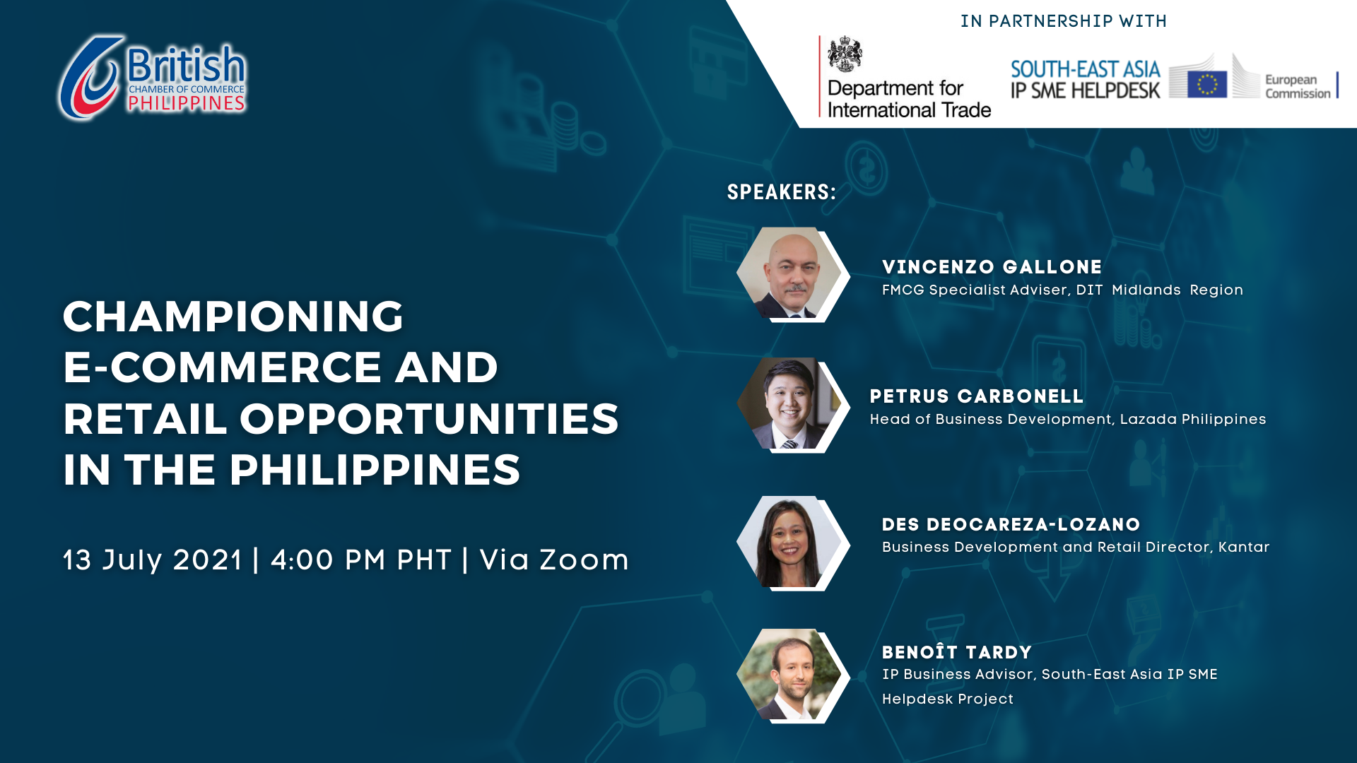 Virtual Training: Championing E-Commerce and Retail Opportunities in the Philippines (Co-Organised with BritCham PH)