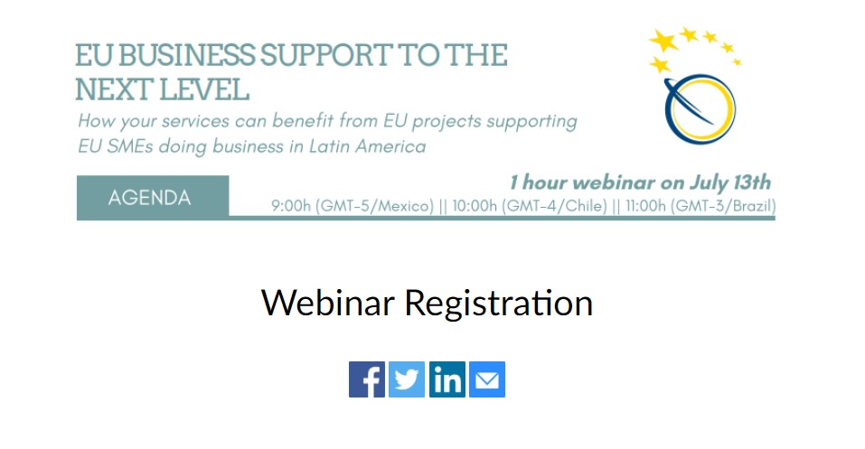 EU business support to the next level - Latin America
