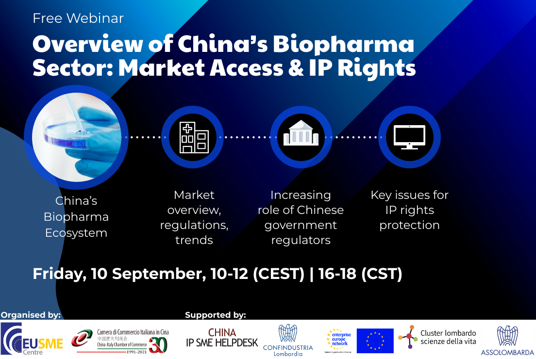 Overview of China's Biopharma Sector: Market Access & IP Rights