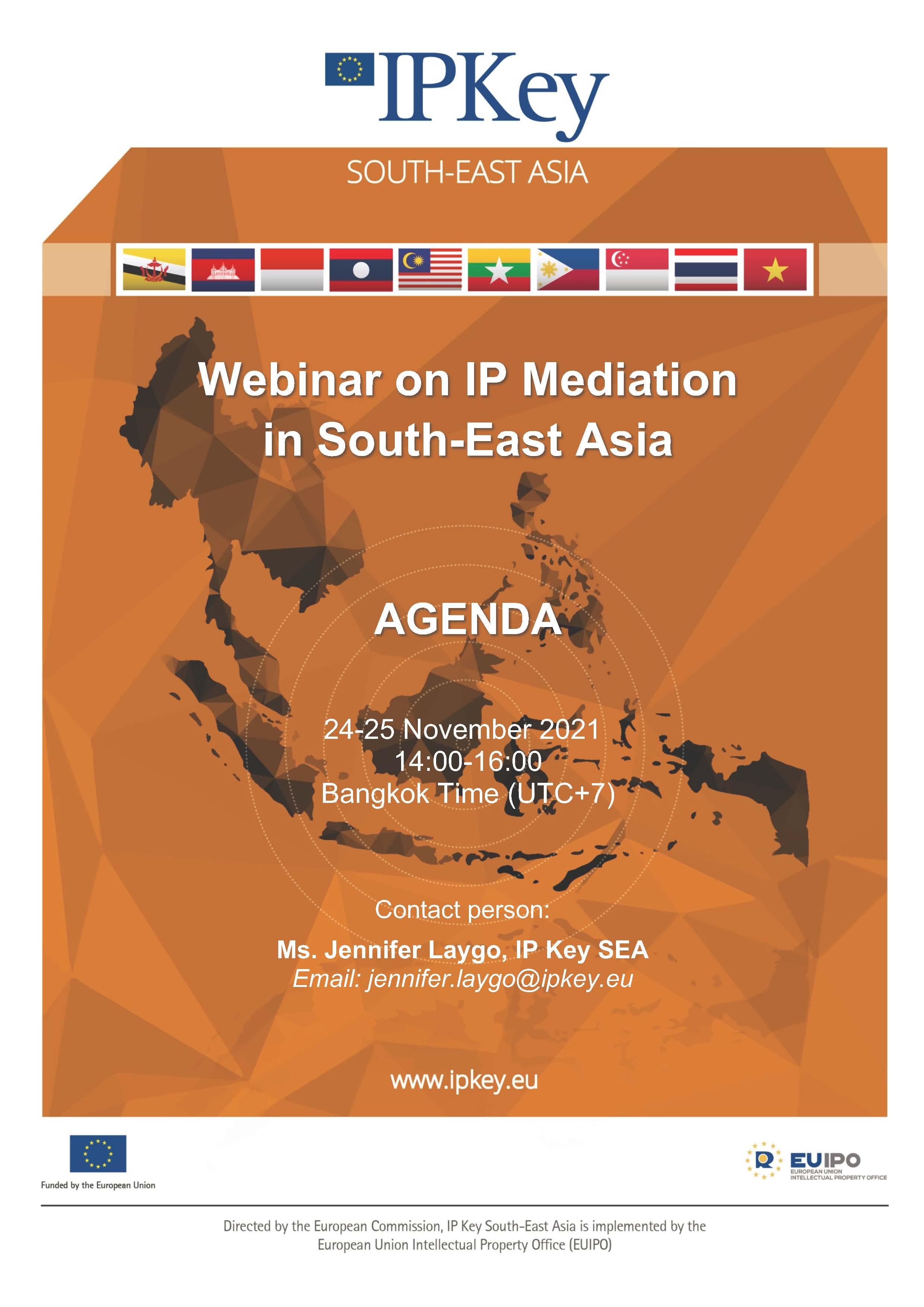 Webinar on IP Mediation in South-East Asia_ 24-25 Nov 2021