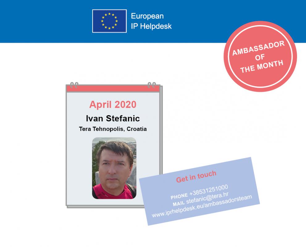 April 2020: Ivan Štefanić, Croatia