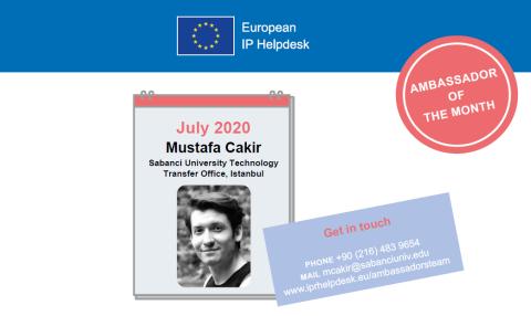 July 2020: Mustafa Çakır, Turkey