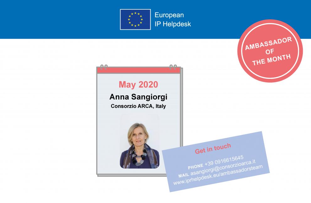 May 2020: Anna Sangiorgi, Italy