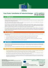 Cancellation of Industrial Designs