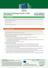 Technology Transfer in Chile and Colombia
