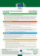 Trade mark registration formalities in Colombia