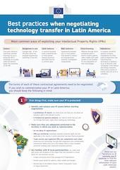 Best practices when negotiating technology transfer in Latin America