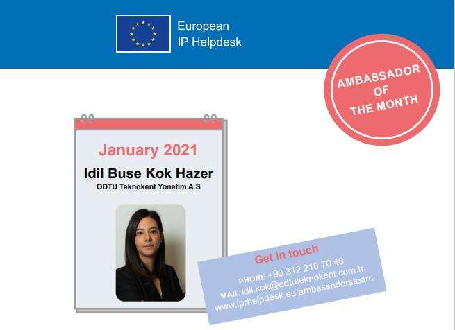 Idil Buse Kok Hazer, Ambassador of the Month