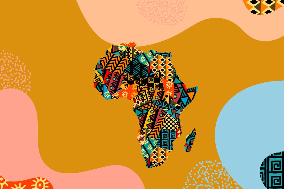 Africa IP SME Helpdesk map